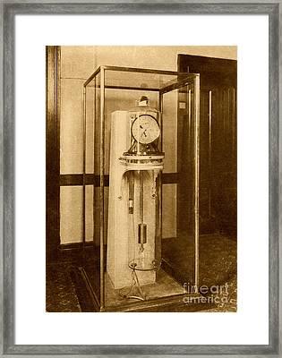 Astronomical Clock Framed Print