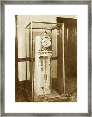 Astronomical Clock, Us Naval Observatory Framed Print