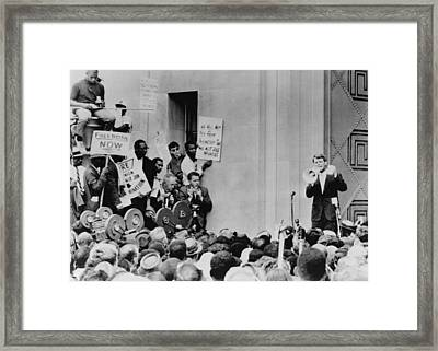 Attorney General Robert Kennedy Framed Print