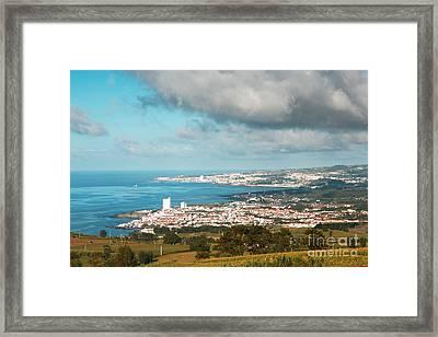Azores Coastal Landscape Framed Print
