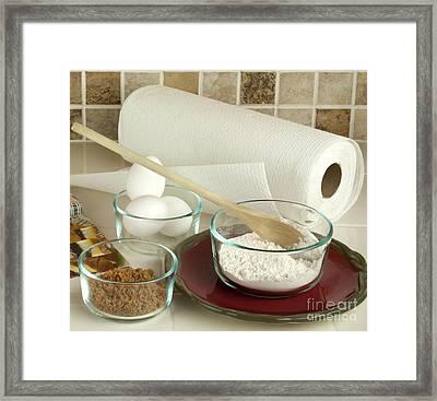 Baking Ingredients Framed Print by Blink Images