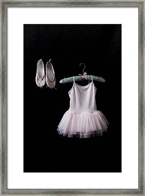 Ballet Dress Framed Print