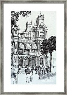 Barcelona Framed Print by Natalia Eremeyeva Duarte