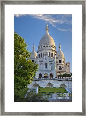 Basilique Du Sacre Coeur Framed Print by Brian Jannsen