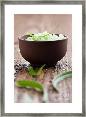 Bath Salt Framed Print