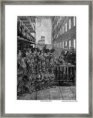 Blackwells Island, 1876 Framed Print