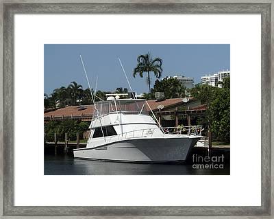 Boat Framed Print by Blink Images