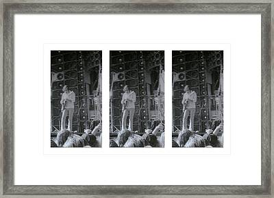 Bob Weir Grateful Dead 74 Dsm Ia Framed Print