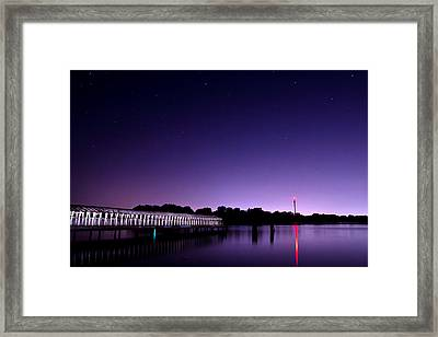 Boblo Dock Framed Print by Cale Best