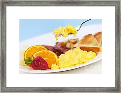 Breakfast  Framed Print by Elena Elisseeva
