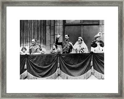 British Royal Family. From Left Future Framed Print by Everett