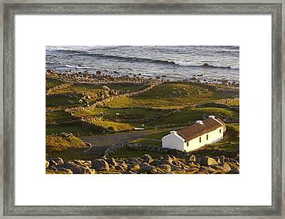Bunbeg, County Donegal, Ireland Sunset Framed Print
