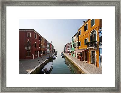 Burano - Venice - Italy Framed Print