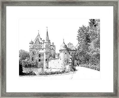 Burg Satzvey Germany Framed Print by Joseph Hendrix