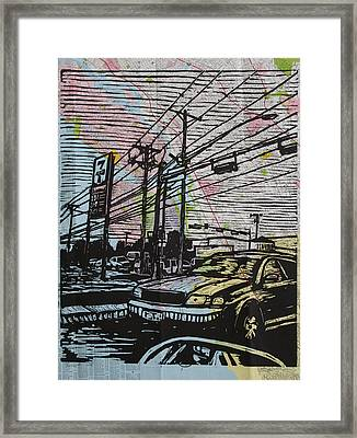 Burnet Road Framed Print by William Cauthern