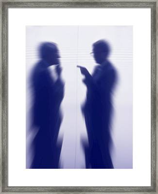 Businessmen Framed Print by Pasieka