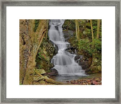 Buttermilk Falls Framed Print