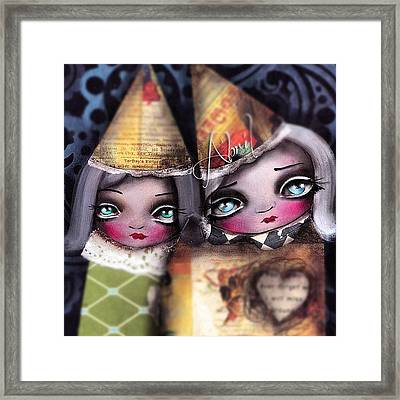By #abrilandrade Framed Print by  Abril Andrade Griffith