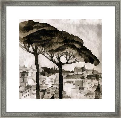 By Italy Framed Print by Odon Czintos
