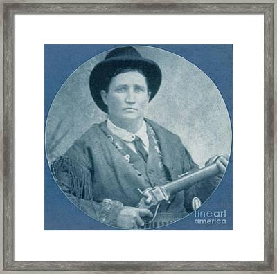 Calamity Jane, American Frontierswoman Framed Print
