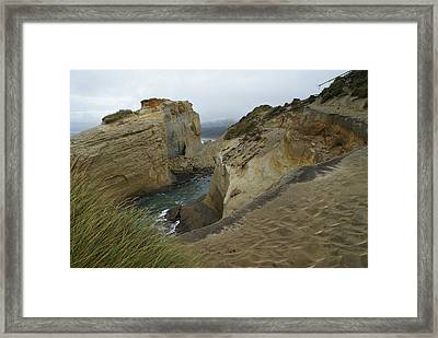 Cape Kiwanda Framed Print by Jerry Cahill