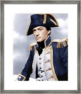 Captain Horatio Hornblower, Gregory Framed Print by Everett