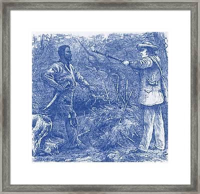 Capture Of Nat Turner, American Rebel Framed Print by Photo Researchers