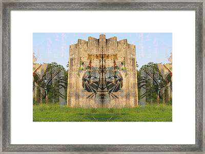 Cave Paintings Framed Print by Michele Caporaso