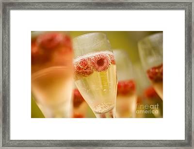 Champagne Framed Print by Kati Molin