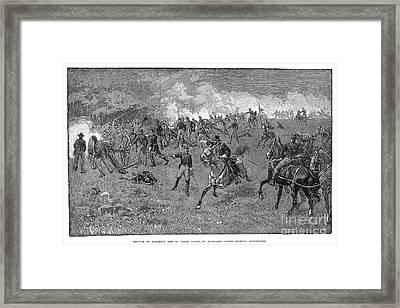 Chancellorsville, 1863 Framed Print by Granger
