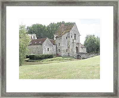 Chateau De Pontarme France Framed Print by Joseph Hendrix