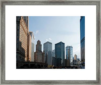 Chicago City Center Framed Print