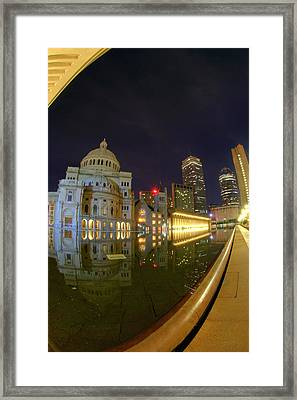 Christian Science Center-boston Framed Print by Joann Vitali
