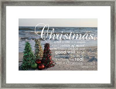 Christmas Framed Print by Ashley Barrett