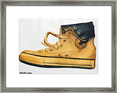 Chucks Framed Print by Michael Ringwalt