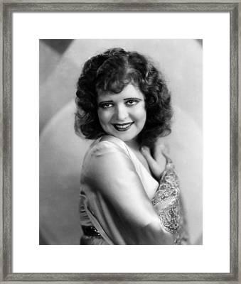 Clara Bow, 1930 Framed Print