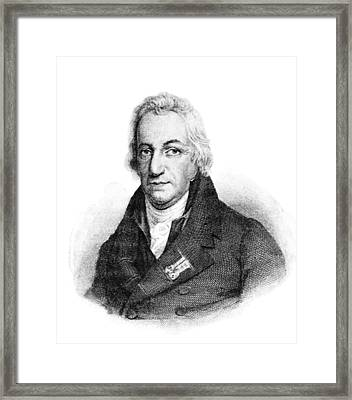 Claude Louis Berthollet, French Chemist Framed Print by