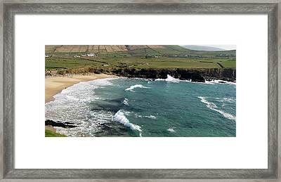 Clogher Beach Framed Print by Barbara Walsh