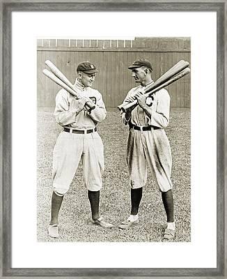 Cobb & Jackson, 1913 Framed Print by Granger