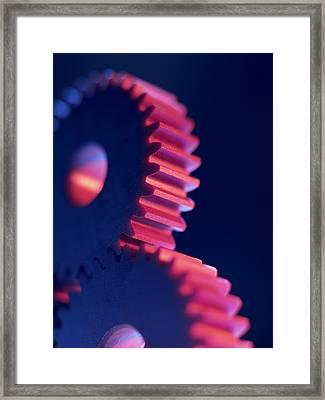Cogwheels Framed Print by Tek Image