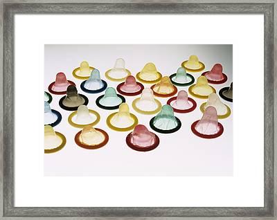 Condoms Framed Print