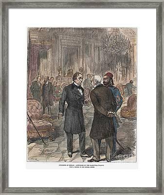 Congress Of Berlin, 1878 Framed Print by Granger