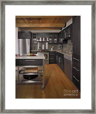 Contemporary Kitchen Framed Print