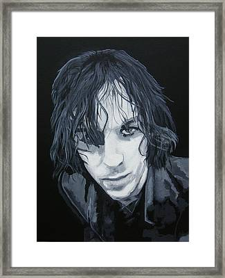 Crazy Diamond Framed Print