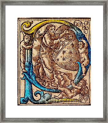 Creation, Giunta Pontificale, 1520 Framed Print by Science Source