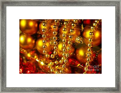 Crhistmas Decorations Framed Print