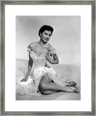 Cyd Charisse, Ca. 1950s Framed Print by Everett