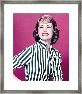 Cyd Charisse Framed Print by Everett