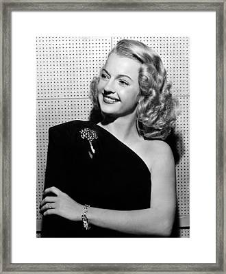Dale Evans 1912-2001, American Actress Framed Print by Everett