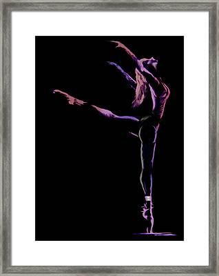 Dancer Framed Print by Jose Luis Reyes